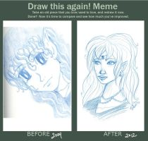 Draw this Again meme by aprilmdesigns