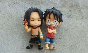 Ace and Luffy, Happier Times... by riezforester