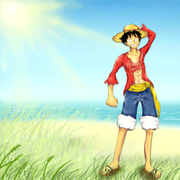 Luffy 2Y by Spilled-Sunlight