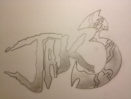 Jak 3 Fan drawn Logo by Oblivion3O