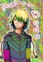 Rainbow Dude :for Whisper: by adestally
