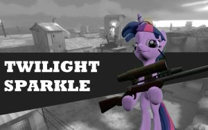 Pony Fortress 2 - Twilight Sparkle by TBWinger92
