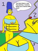 giantess simpson by jonywaterman