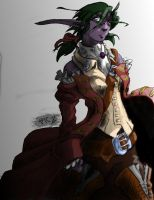 Elf Pirate color by 6-fingers