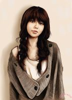 """SNSD Soo Young """"Painting"""" by deAtHwiSH90"""