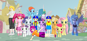 The Railway Family In Equestria (Take 2, Pony) by Mario-McFly