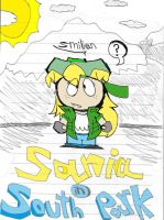 Sania in South Park by sav8197