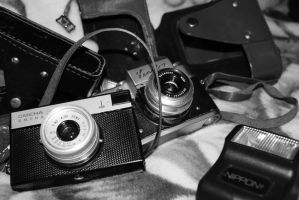 Cameras from different times by mms92