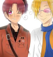 APH - 2P!North Italy and 2P!South Italy by Mizuka-san