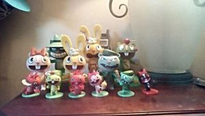 Happy Tree Friends figure collection by SquirrelCat1998V2