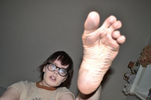 Horror Girl: Dirty Foot Stomp 03 by MyEgoTripped