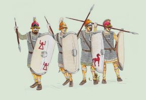 Carthaginian infantry by TheNicator