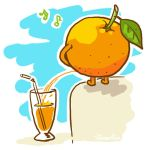 orange juice by GreenSun2012