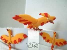 146 Moltres by VictorCustomizer