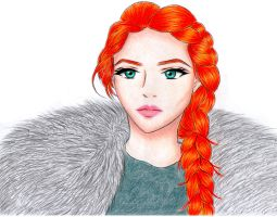 Sansa Stark - Game of Thrones by carolinachaves