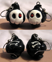 Duskull Earrings by HollieBollie