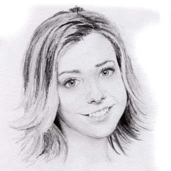 Alyson Hannigan sketch by jlim51