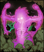 A female #Susanoo (Pink) by Animeboy274s