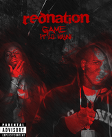 RED NATION - GAME FT. Lil WAYNE Poster by KINGMEZOARTS