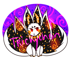 Halloween Fox Adopt CLOSED by Trickychan