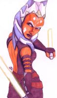 Older Ahsoka by LauraInglis
