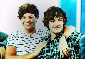 Louis Tomlinson and Liam Payne by weareinheaven