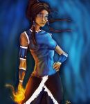 Korra With a 'Tude by thelotmb