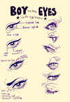 boy eyes by animegirl000