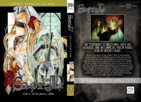 SACRED, volume 3 Limited Edition Cover by SiSero