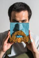 Beard mosaic by Mireynos