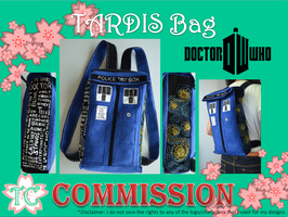 TARDIS Bag by TealCreations