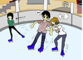 Ice Skating Fail by BethanHolt