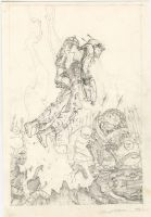 At the Edge Sketch by Dubisch