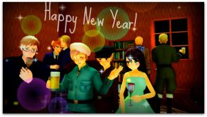 HAPPY NEW YEAR! by Ask-MMD-Finland