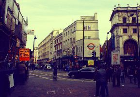 Streets Of London by Wapli