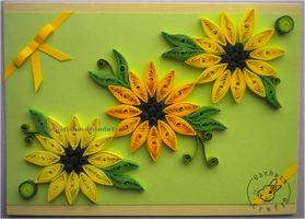 Quilling - card 82 by Eti-chan