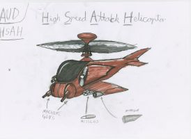 HSAH Attack helicopter by red-umbreon-of-light