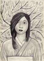 Japanese Girl by Andreth