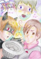 3Rs Trick or treat by Naoko-Tomomi