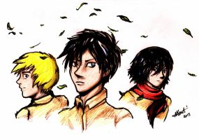 SNK - Wind of change by Nanook94