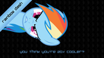Angry Rainbow Dash by pims1978