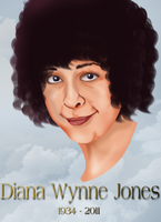 Diana Wynne Jones by Deus-Marionette