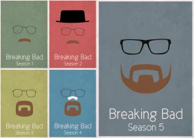 Breaking Bad Posters by sinhar97