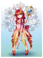 Collab: Aurumis Ellin Priest by Aurumis