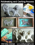 Moldmaking and Casting Process by emilySculpts