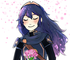 Who gave you flowers, Lucina? by AppleRiddles