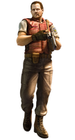 Barry Burton - Resident Evil Mercenaries 3D Render by YukiZM