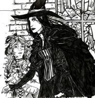 Wicked: Elphaba and Nessarose by freaky-dragonlady