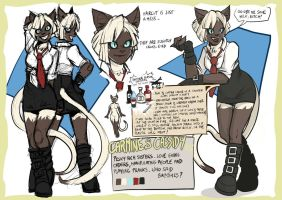Character Ref - Carmine and Cassidy by EMP-83