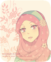 Hijab Chie by pindanglicious